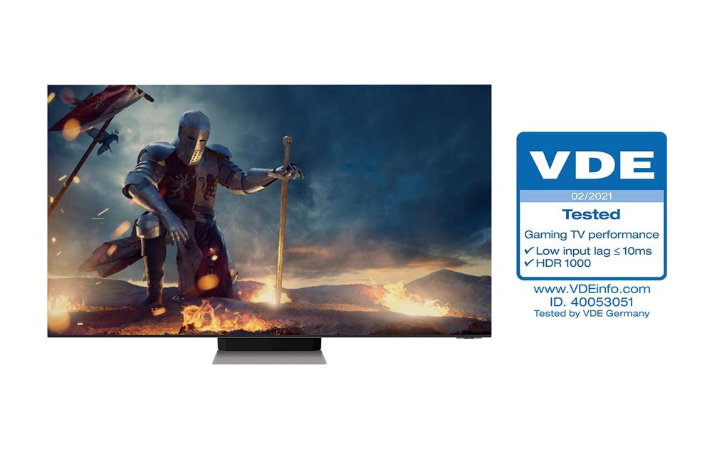 삼성 'Neo QLED' , TV 업계 최초 독일 VDE 'Gaming TV Performance' 인증 획득(3)