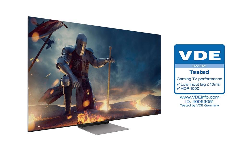 삼성 'Neo QLED' , TV 업계 최초 독일 VDE 'Gaming TV Performance' 인증 획득(4)