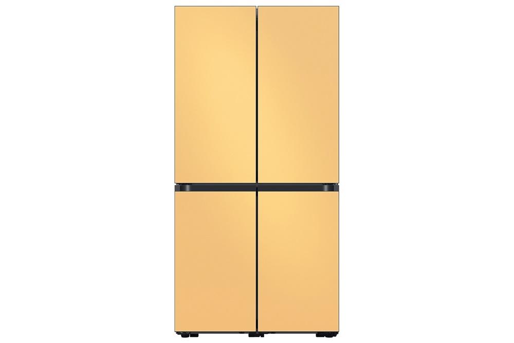 비스포크 4도어 냉장고 신제품 ('코타 썬 옐로우' 색상 모델)
