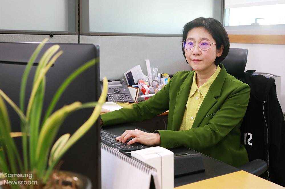 생활가전사업부 유미영 전무