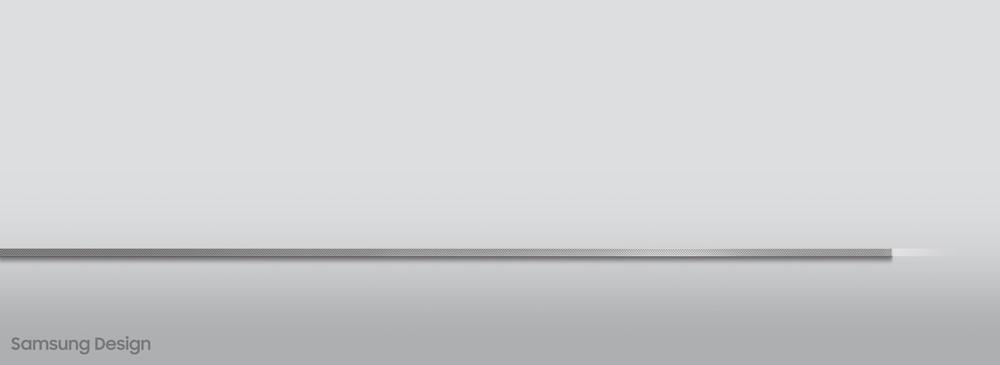 인피니티 디자인이 돋보이는 슬림한 옆모습
