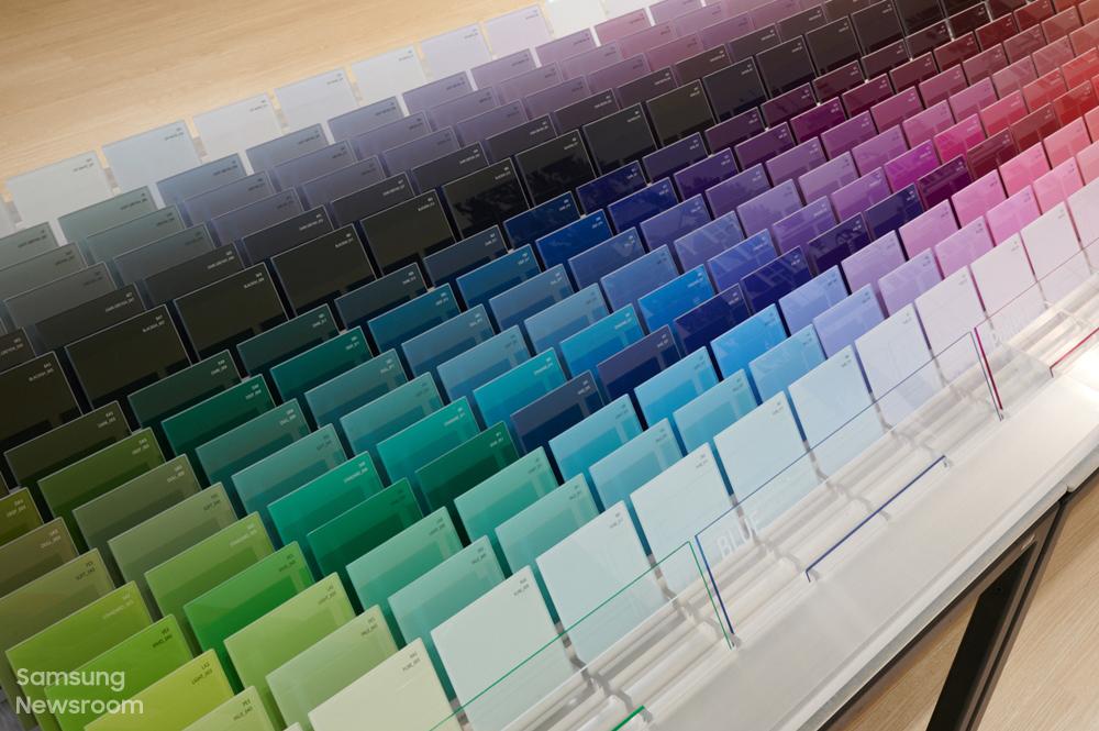 비스포크 360 프리즘 컬러 샘플