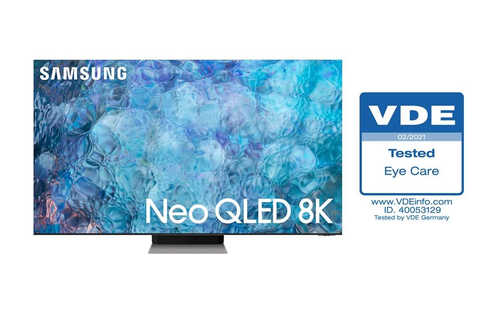 Neo QLED TV VDE 아이케어 인증 획득(1)