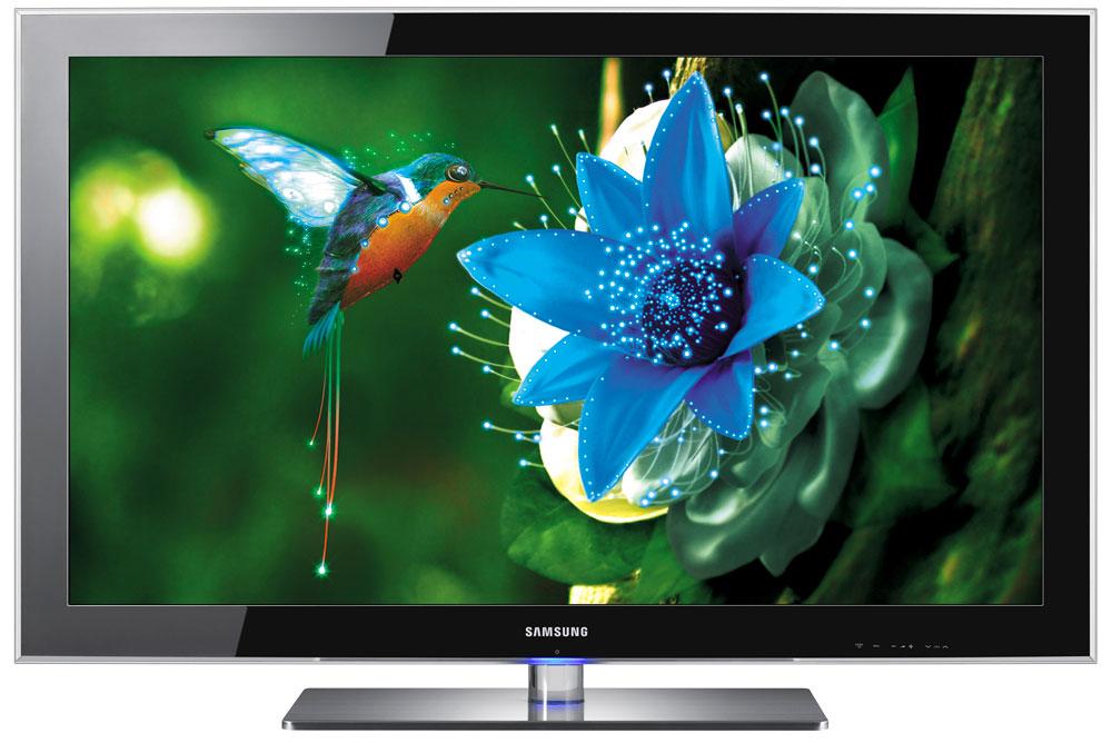 ▲ 혁신 기술의 집약으로 주목받은 삼성 LED TV