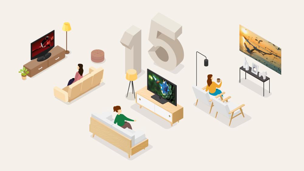 삼성 TV 15년 1위의 발자취