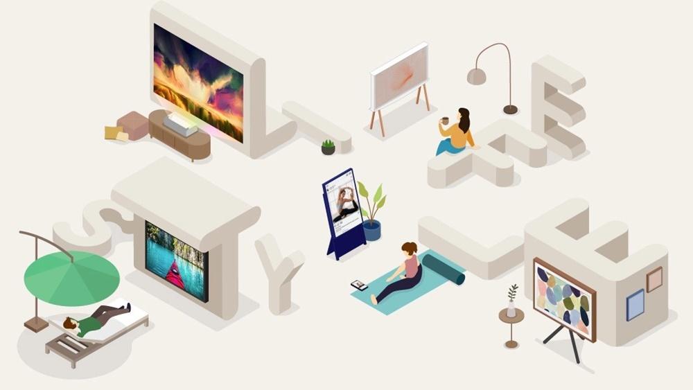 삼성 TV의 다양한 라이프스타일 TV 라인업