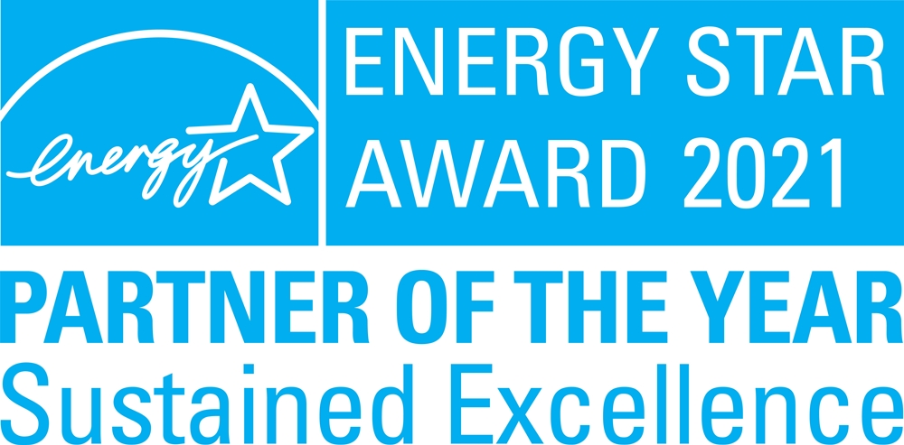 ENERGY STAR AWARD 2021 PARTNER OF THE YEAR Sustained Excellence