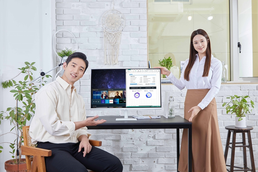 03_삼성 스마트 모니터 라인업 확대_M5 32형 화이트 에디션