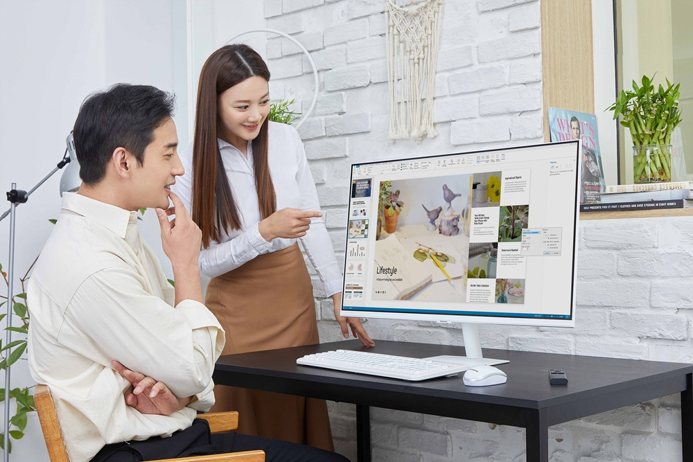 04_삼성 스마트 모니터 라인업 확대_M5 32형 화이트 에디션