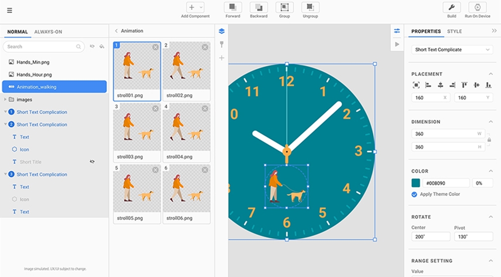 삼성 갤럭시 버추얼 이벤트_워치 페이스 디자인 도구
