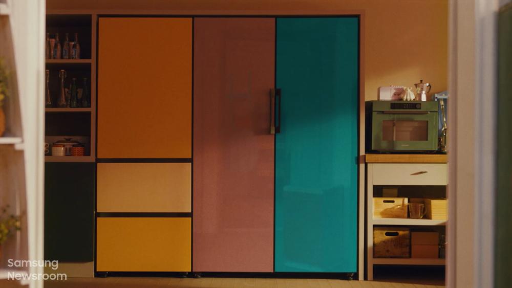 비스포크 무비 속 비스포크 냉장고 모습