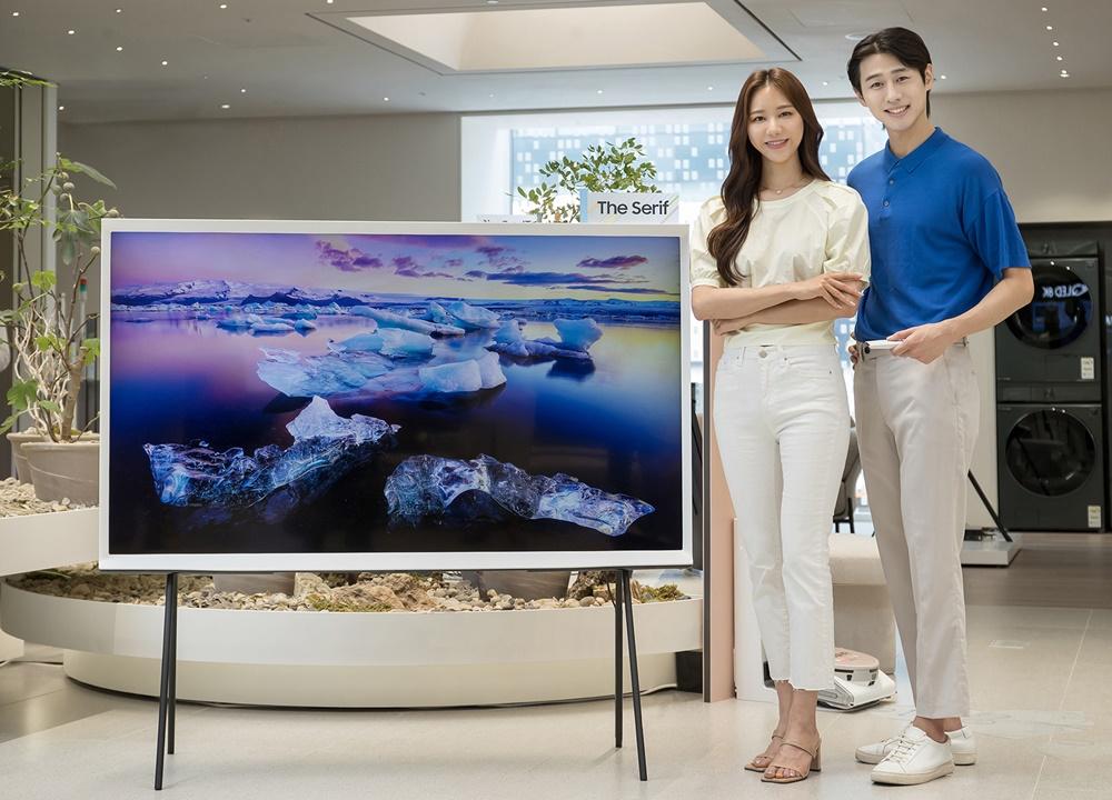 삼성전자 라이프스타일 TV 더 세리프 65형 출시(2)