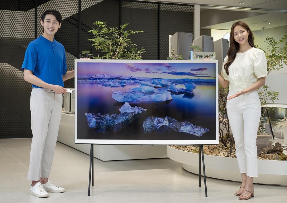 삼성전자 라이프스타일 TV 더 세리프 65형 출시(3)
