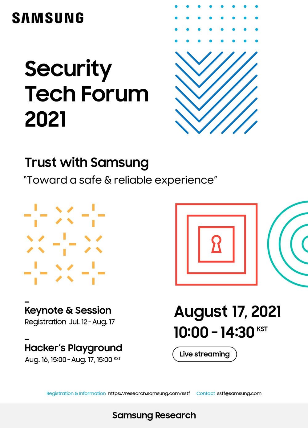1. 삼성보안기술포럼 2021 포스터(화이트)