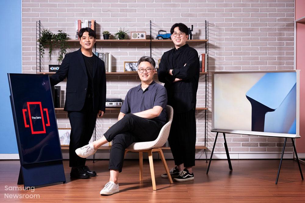 라이프스타일 TV 상품기획을 맡은 이규성 프로, 정강일 그룹장, 김선우 프로