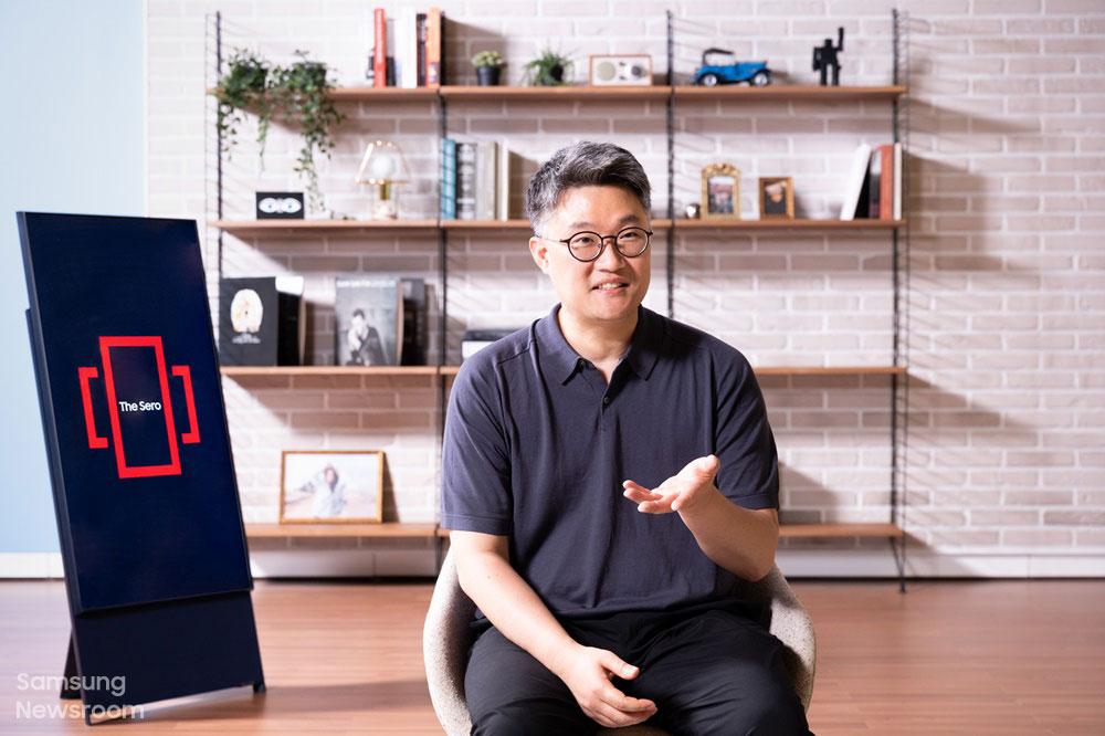 라이프스타일 TV 상품기획을 담당하고 있는 정강일 그룹장