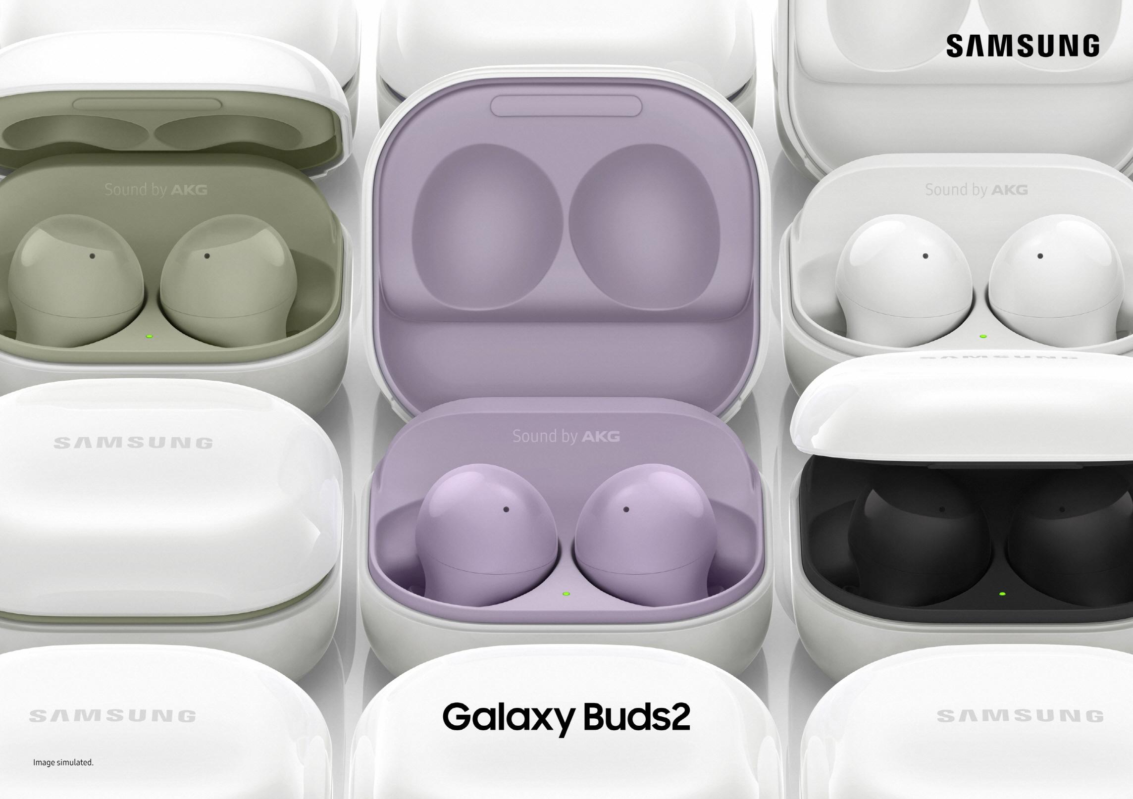 삼성 '갤럭시 버즈2' 제품 이미지