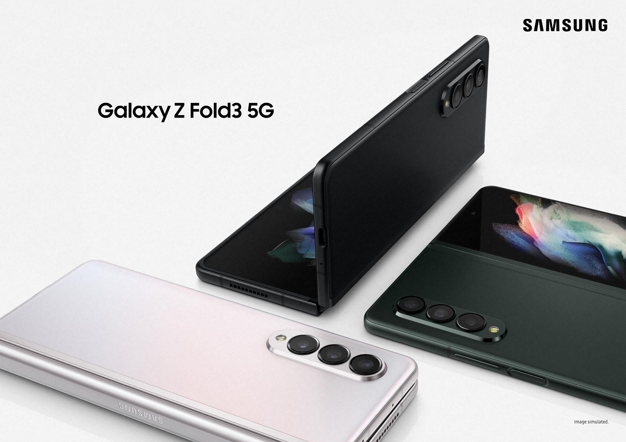 삼성 '갤럭시 Z 폴드3' 제품 이미지