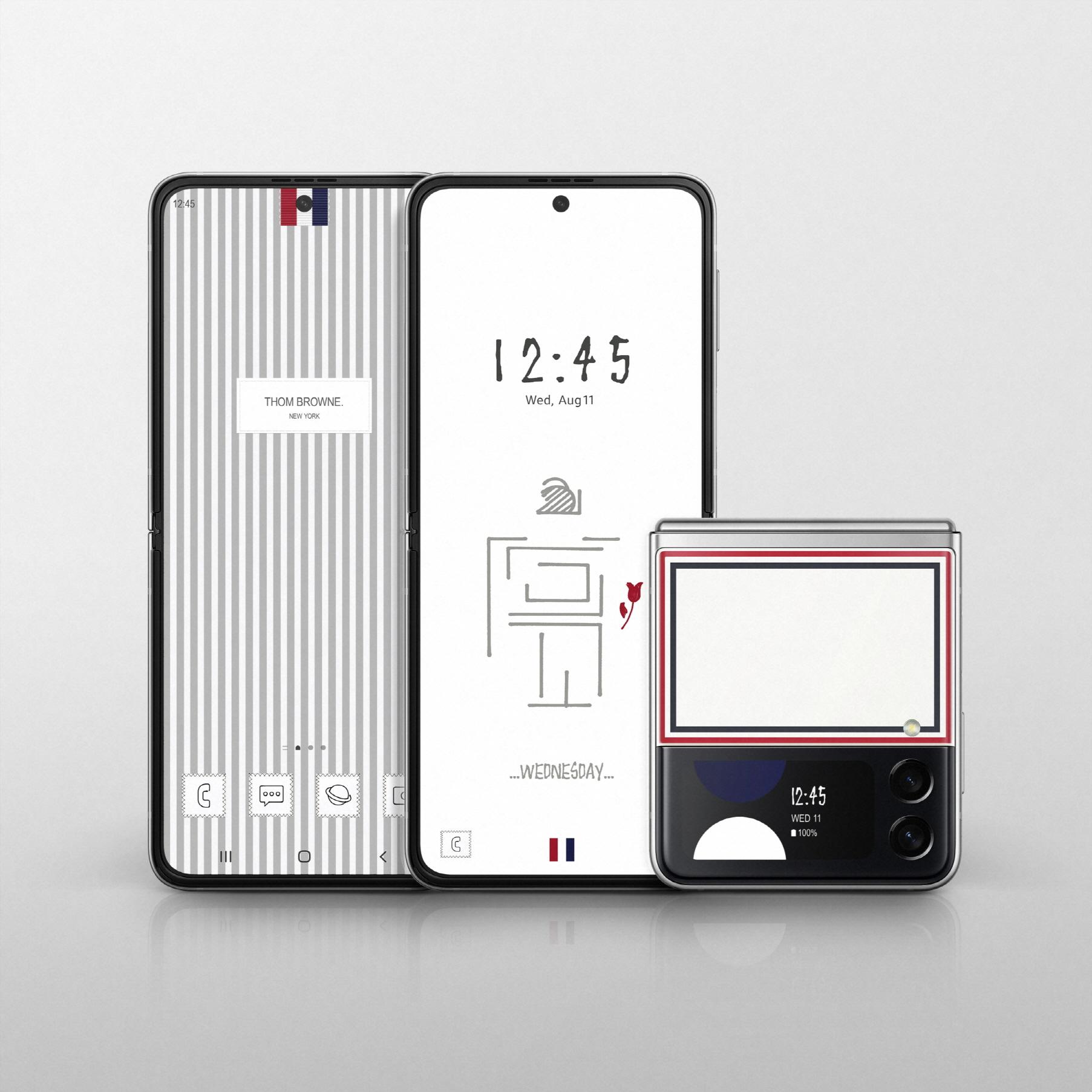 삼성 '갤럭시 Z 폴드3·플립3 톰브라운 에디션' 제품 이미지