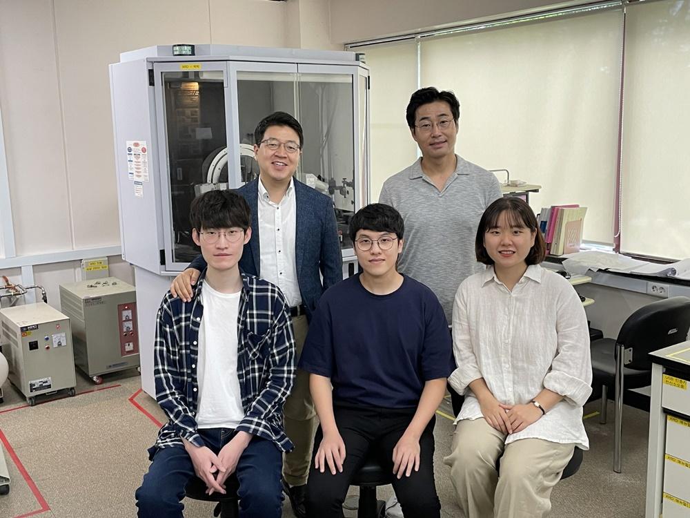 연구팀 단체 사진