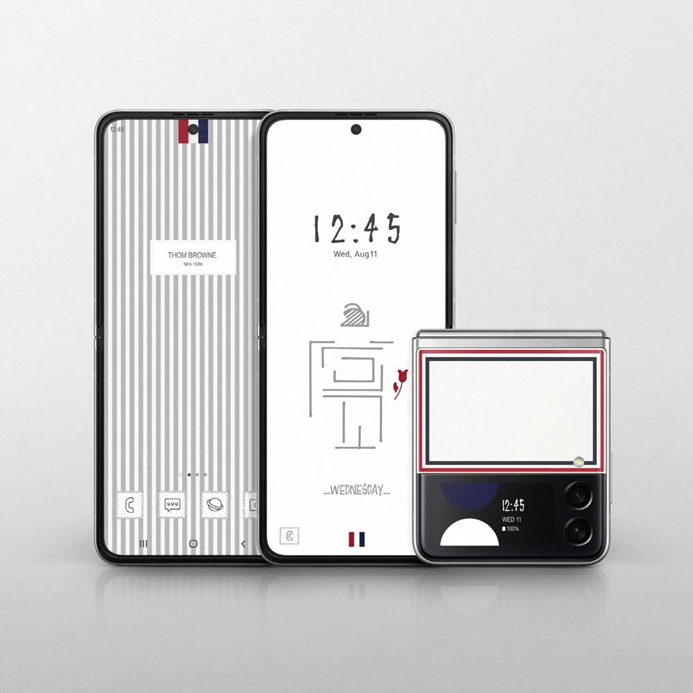 1. 삼성 갤럭시 Z 폴드3_Z 플립3 톰브라운 에디션