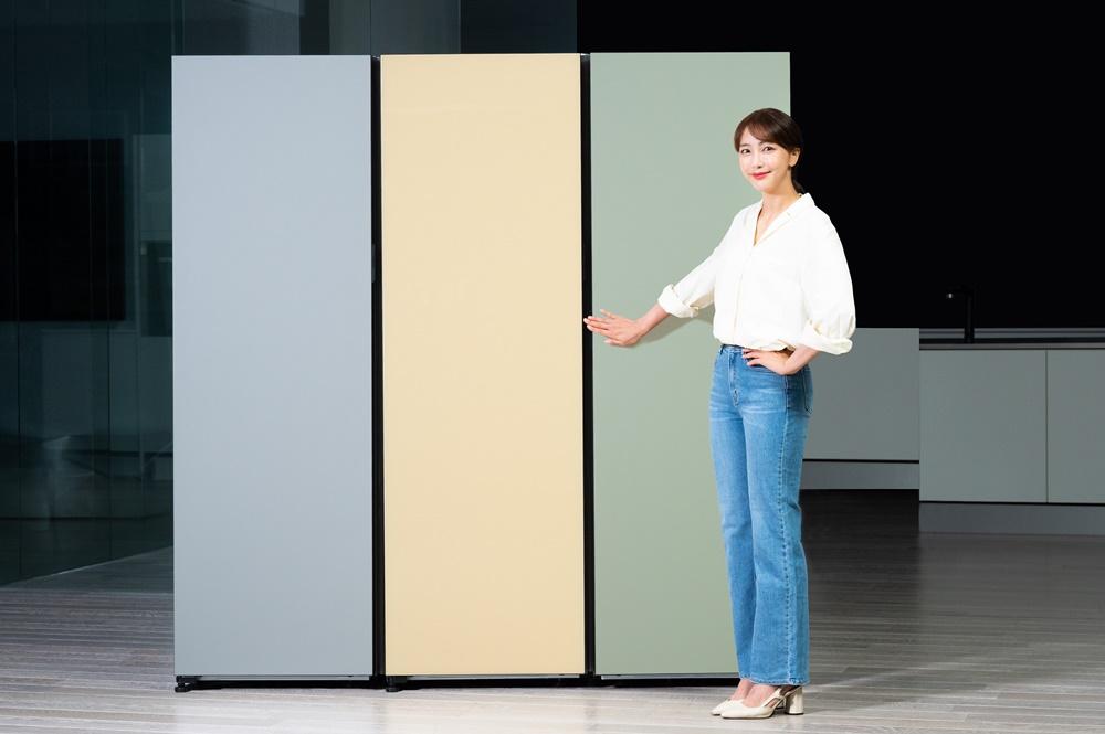 삼성전자 비스포크 냉장고 1도어 신제품 출시(1)