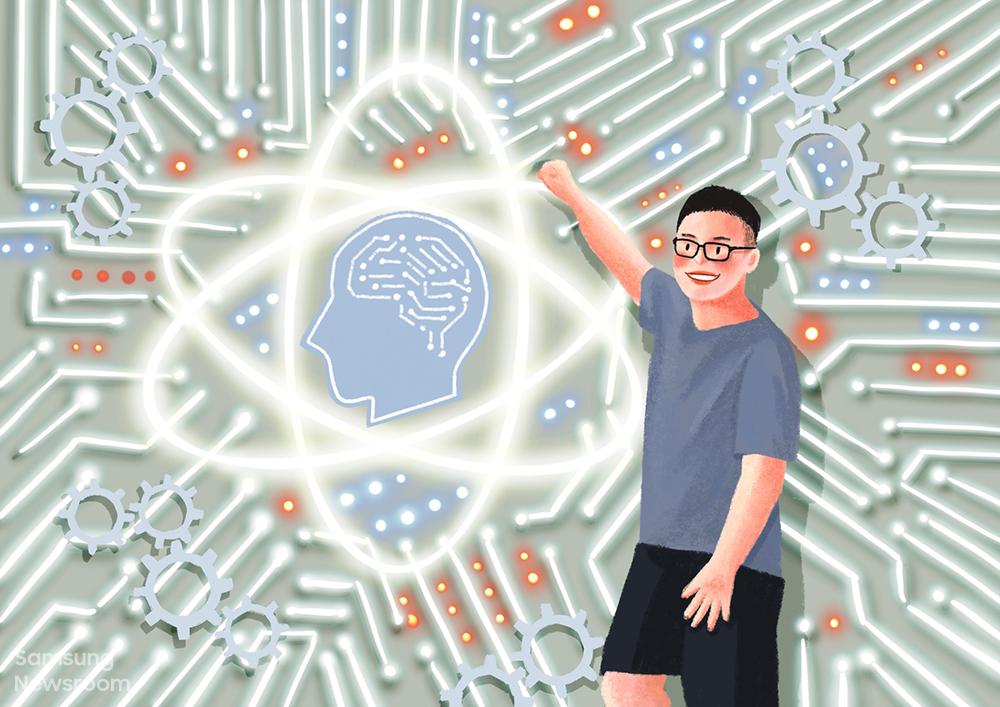 삼성전자 중국 베이징 연구소(Samsung R&D Institute China–Beijing, SRC-B)의 인공지능(AI) 랩 엔지니어 빈 다이(Bin Dai)