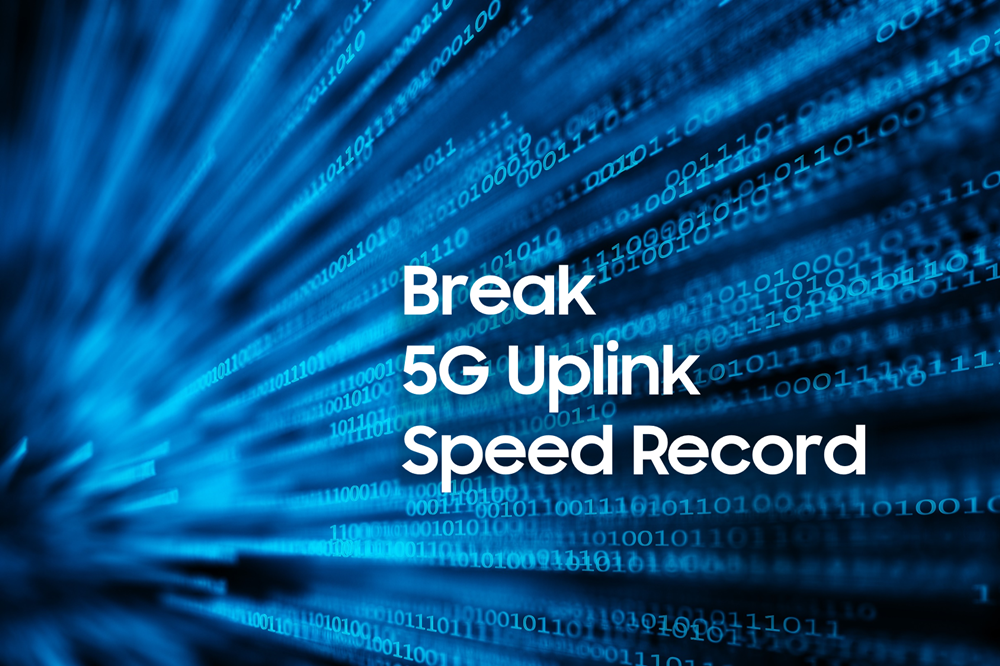 Break 5G Uplink Speed Record